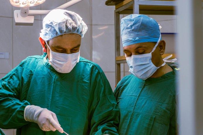 хирурги на операции при лимфедеме